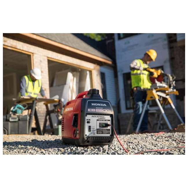 EB2200ITA Honda EB2200ITA 2200 Watt Super Quiet Portable Inverter Generator 3