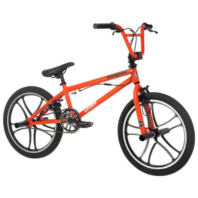 Mongoose Scan R30 20 Quot Freestyle Bmx Bicycle Matte Orange