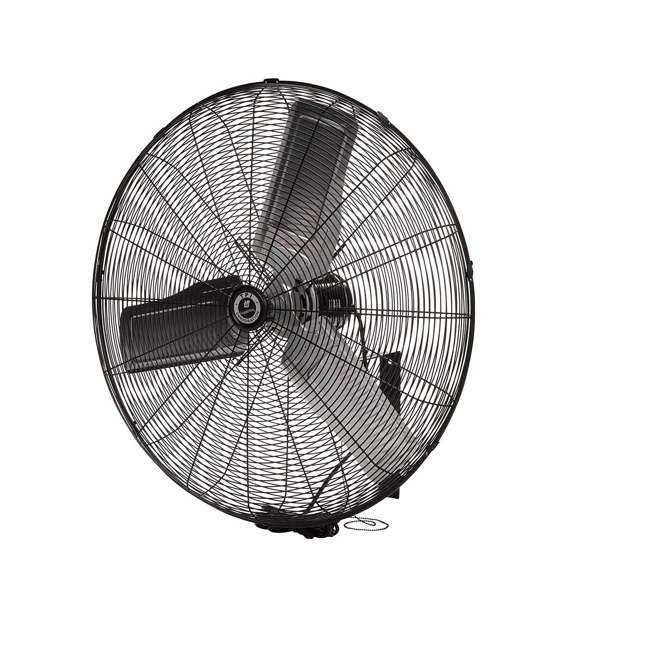 "CACU30W TPI Corporation 30"" 3-Speed Single-Phase Wall Mount Commercial Circulator Fan"