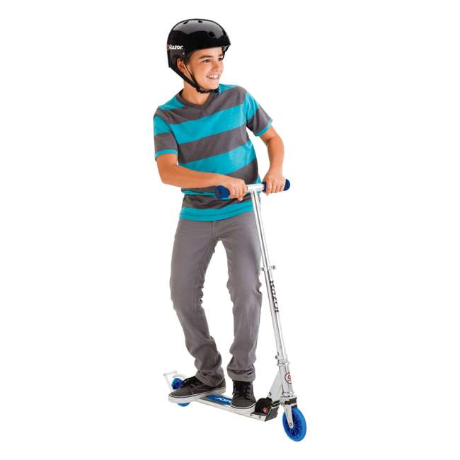13014340 RAZOR A3 Kick Scooter (Blue) 4