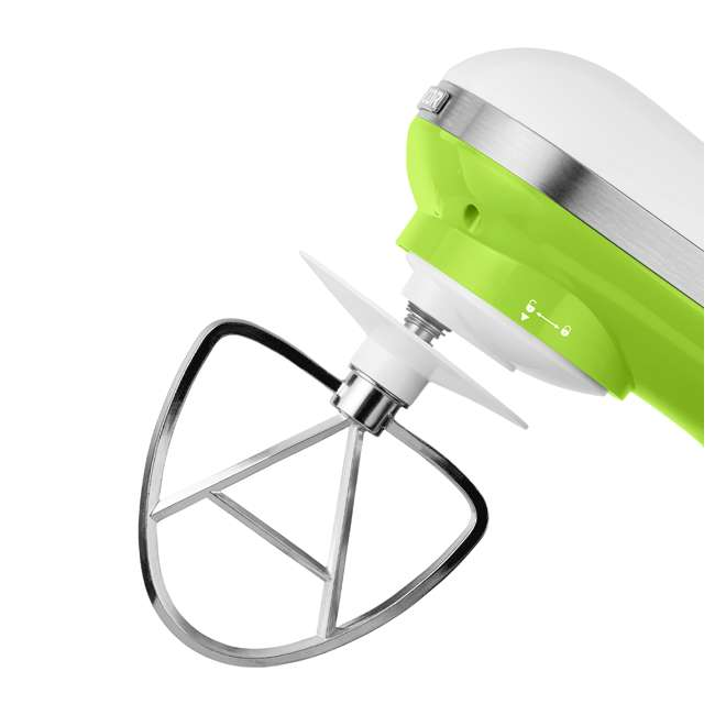 STM3621GR-NAA1 Sencor STM 3620WH 4.2 Quart 6 Speed Food Mixer with Stainless Steel Bowl, Green 3