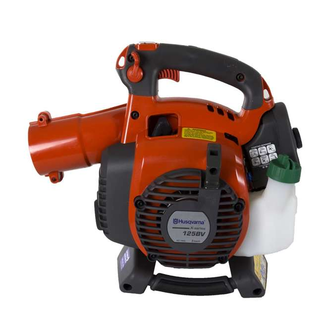 High Powered Blower : Husqvarna cc gas powered blower vac bvx