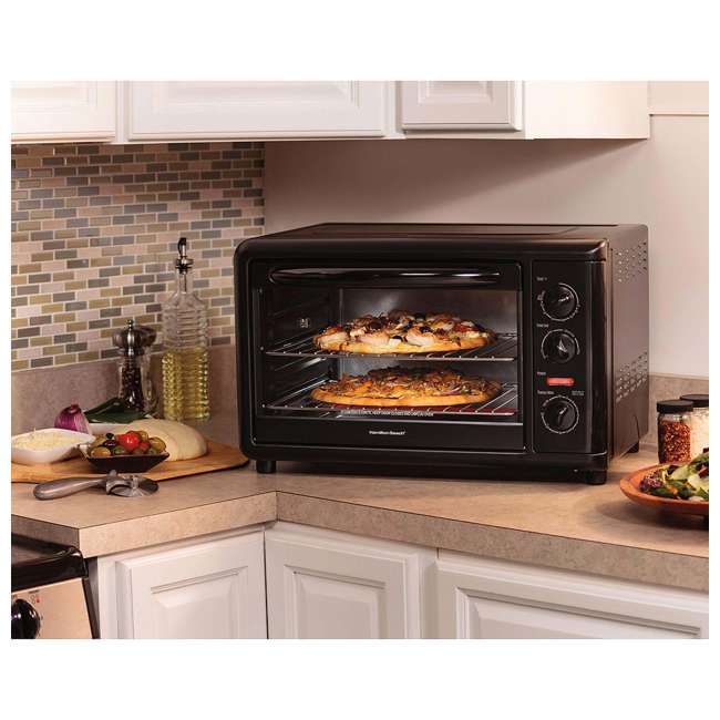 Hamilton Beach Large Countertop Oven With Convection 31121a