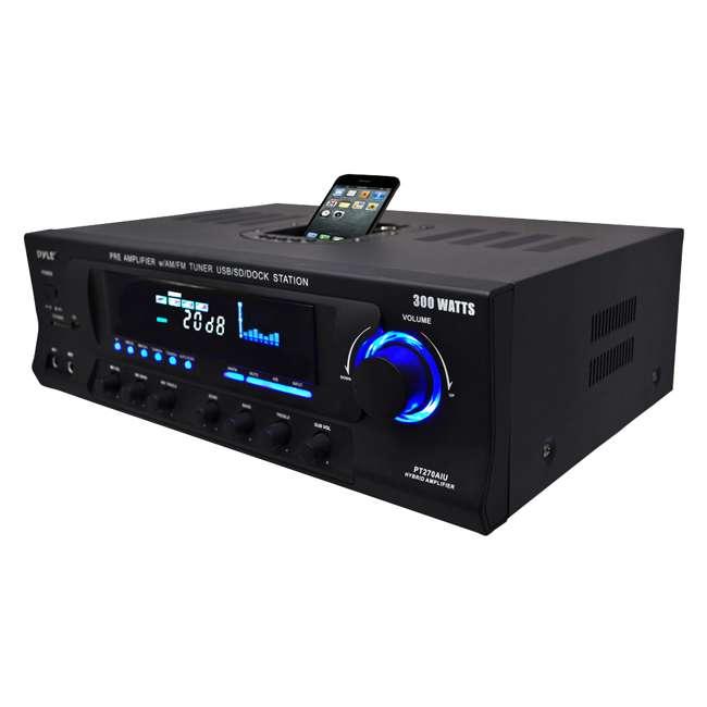 PT270AIU Pyle Pro PT270AIU 300W Home Amplifier Receiver