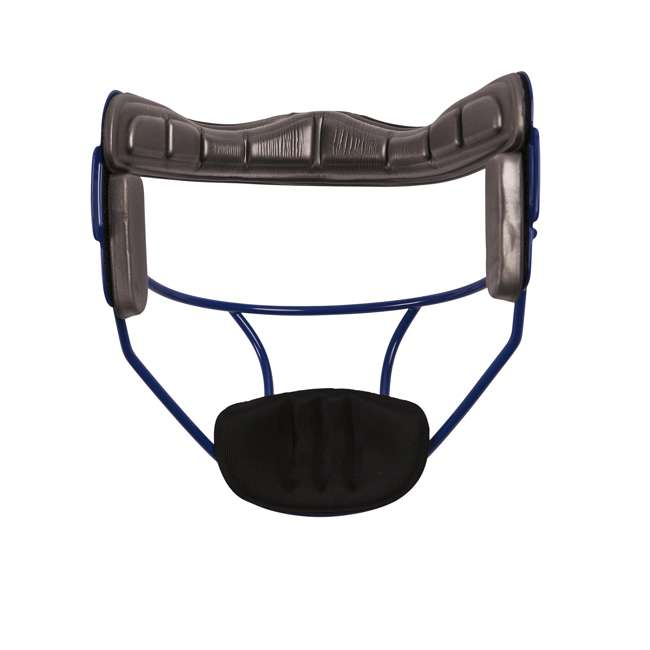 FMABL Champion Sports FMABL Adjustable Strap Adult Softball Fielder's Face Mask, Blue 1