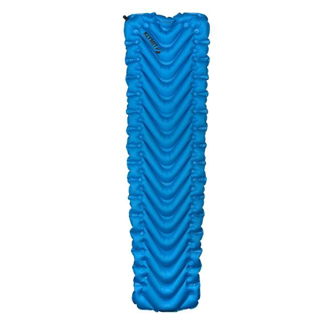 06SUBL01C Klymit Static V Ultralite SL Inflatable Sleeping Pad, Blue 1