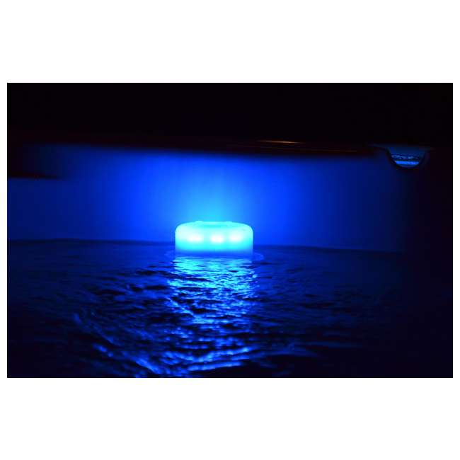 6 x 200680 Main Access Pool Led Floating Ladder Step & Line Light (6 Pack) 2