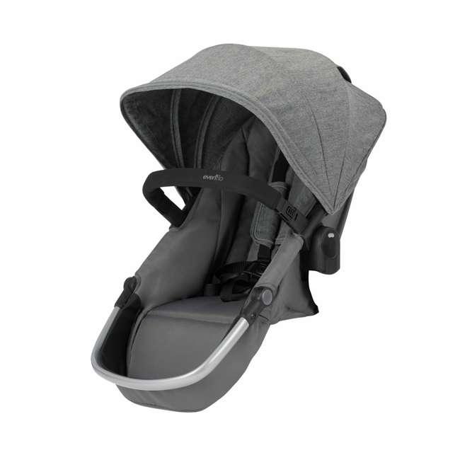 63012254 Evenflo 63012254 Second Seat for Pivot Xpand Stroller, Travel System, Percheron