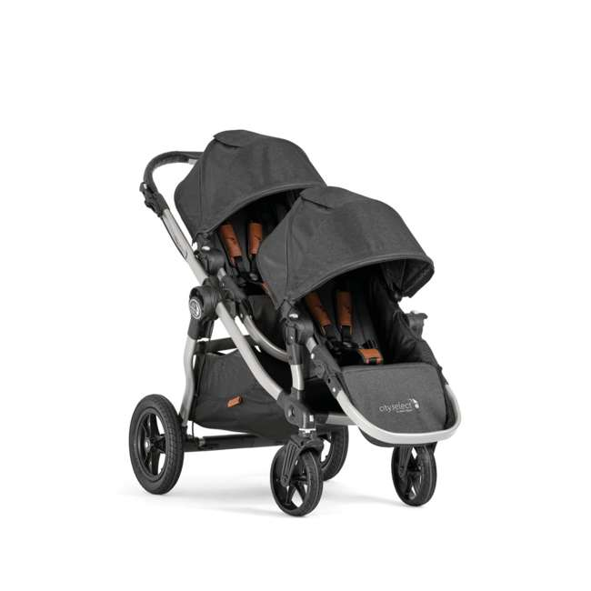 1959502 Baby Jogger City Select Single Stroller, Black 1