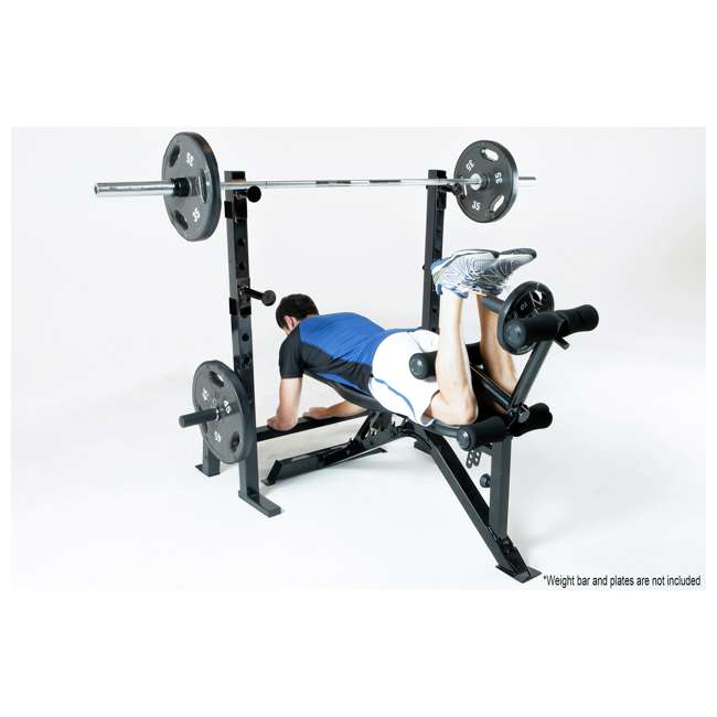 Marcy Olympic Multipurpose Home Gym Workout Weight Bench Pm 70210