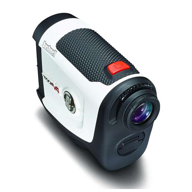BGOLF-201660-OB Bushnell Golf Tour V4 Laser Rangefinder with JOLT Technology, White (Open Box) 4