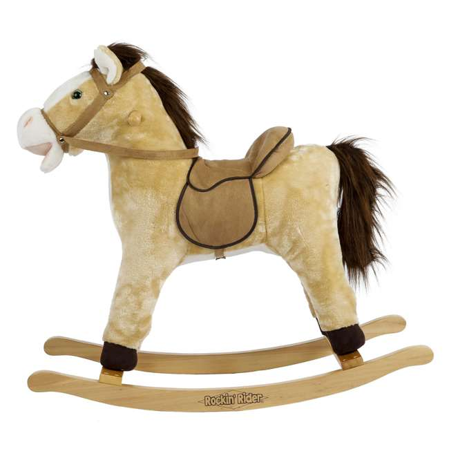 5-20401M-U-A Rockin' Rider Animated Toddler Toy Rocking Riding Sit On Plush Horse (Open Box) 1
