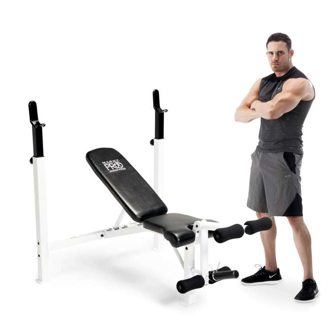 New Sports Exercise Training Fitness Weight Lifting Gym: Marcy Fitness Adjustable Olympic Weight Workout Bench With