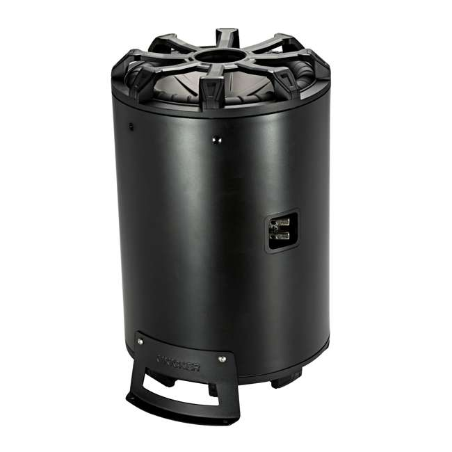 45CWTB102 Kicker 10-Inch 800-Watt Max 2-Ohm Enclosed Tube Subwoofer 2