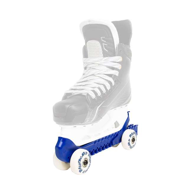 0G144400T83-L + 44374-BL Rollerblade Bladerunner Micro Ice Skates, Large, and Skate Guard Rollers (Pair) 5