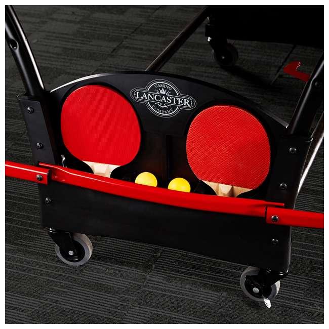 TTT218_108P Lancaster Tournament Folding Table Tennis Table 6