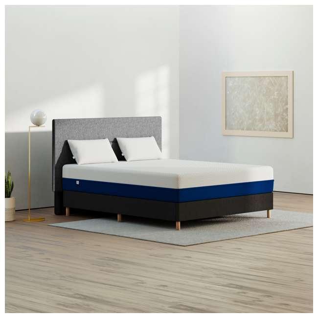 AS3-F Amerisleep AS3 Medium Softness Bio Core Plush Foam Full Size Mattress, White 8
