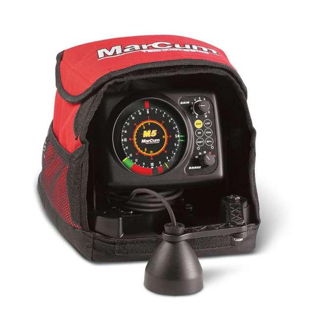 MARCUM-M5-OB Marcum Rapala M5 Flasher Sonar System & Fish Finder (Open Box) 4