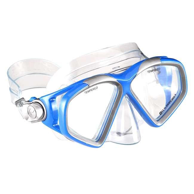 SR259O4015S U.S. Divers Cozumel Comfortable Snorkeling Set with Fins, Mask, Snorkel, and Bag 2