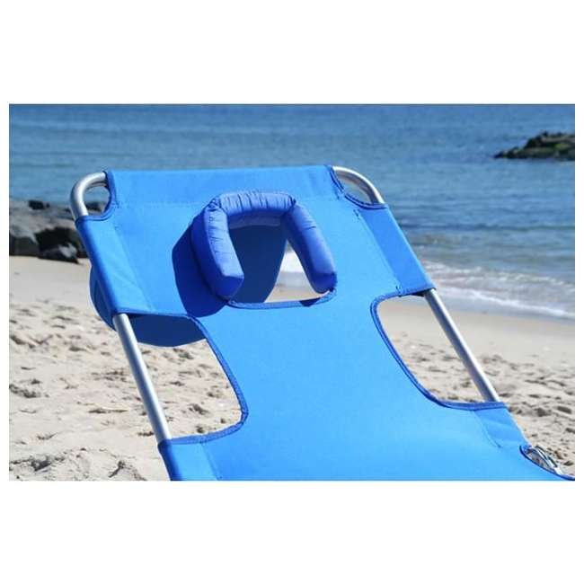 CHS-1002B Ostrich Lounger Face Down Chaise Beach Chair 5