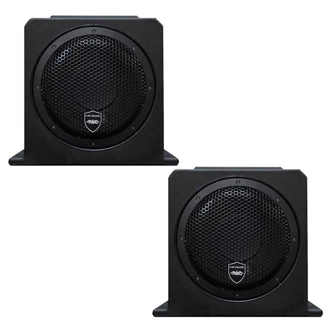 STEALTH-AS-10 Wet Sounds Stealth AS-10 500-Watt Marine Subwoofer (2 Pack)