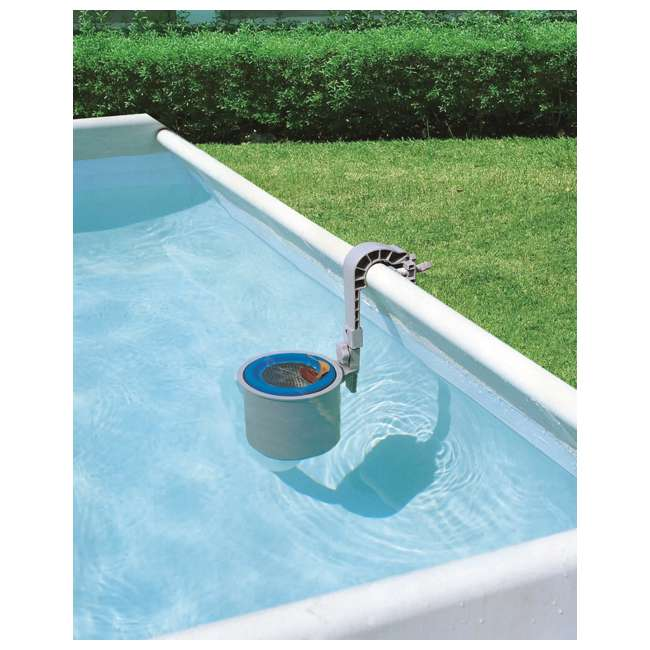 58233 Bestway Above Ground Pool Surface Skimmer Debris Cleaner (Open Box) (2 Pack) 1