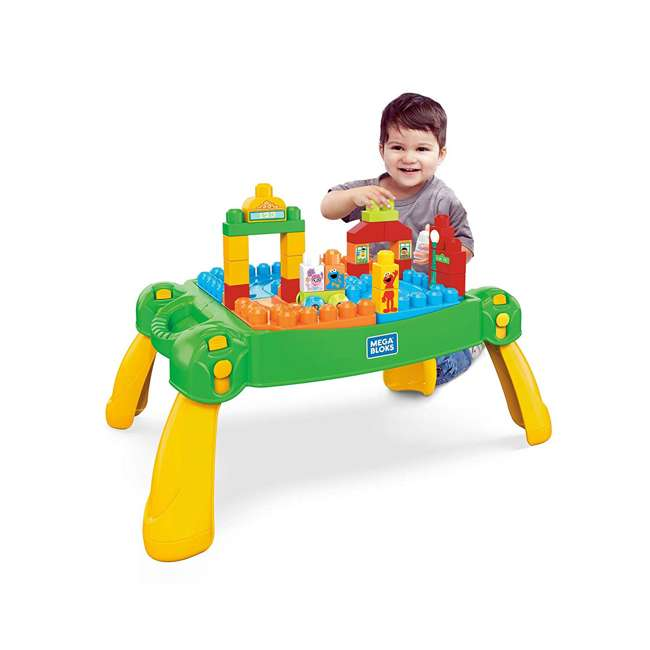 FWF03 Mega Bloks Sesame Street Build and Learn Table Play Set 1