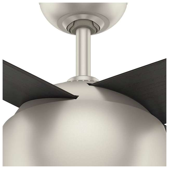 59333 Casablanca 159931 Valby 54 Inch 4 Blade Quiet LED Light Ceiling Fan, Matte Nickel 5