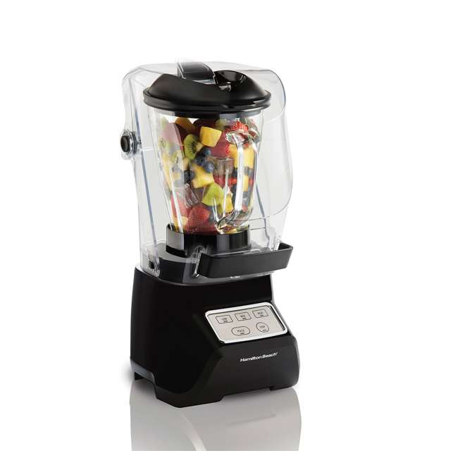 53603 Hamilton Beach 53603 Sound Shield 950 Watt 52 oz Countertop Blender Mixer, Black 7