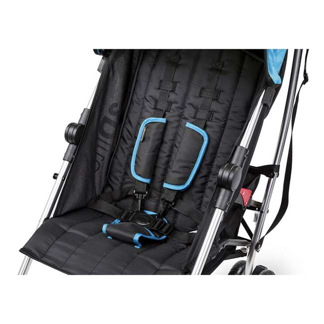 21840A Summer Infant 3Dlite 42 Inch Convenience Stroller, Caribbean Blue 4