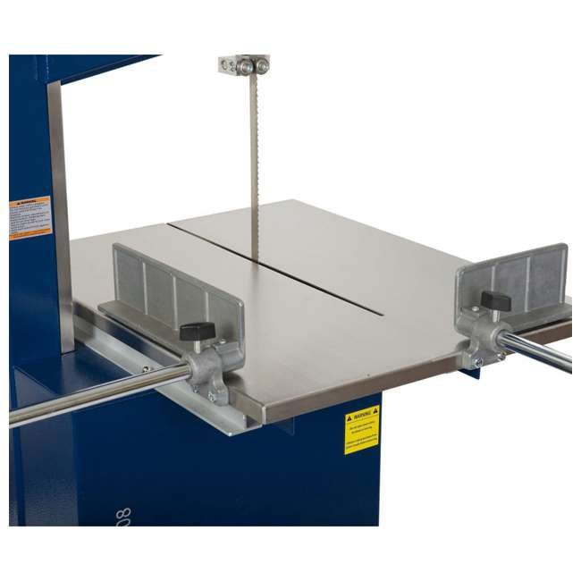 10-308 RIKON 10-308 10 Inch Meat Saw with Stainless Steel Sliding Table and Grinder 2