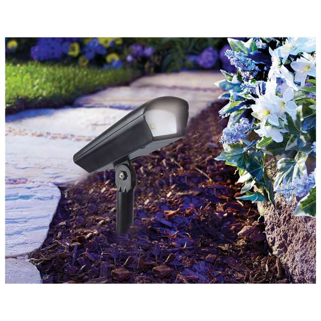 MR-93381 Moonrays 20 Lumen Solar Powered Garden Pathway Floodlight 1