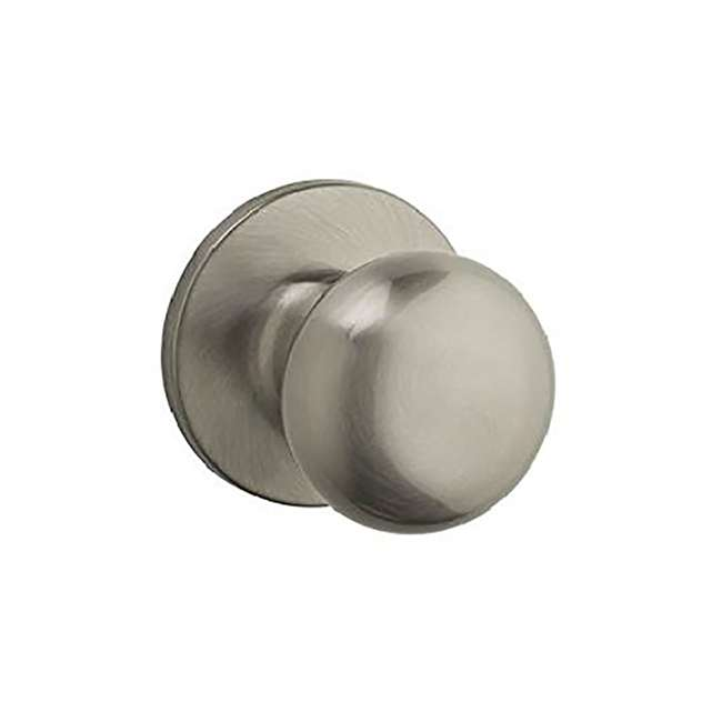 6 x 9SK10000-008-U-A Kwikset Athens Safelock Decorative Door Knob, Satin Nickel (Open Box) (6 Pack)