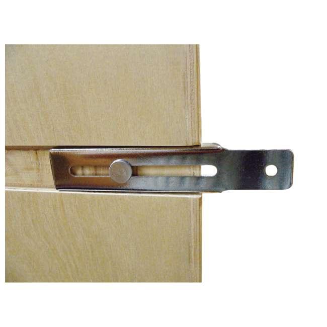 447-BCSC-5C Rev-A-Shelf 447-BCSC-5C 5 Inch Kitchen Pull Out Tray Divider Cabinet Organizer 4