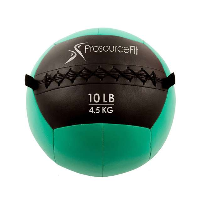 ps-2211-mwb-10lb Prosource Soft 10 pound 14 Inch Workout Fitness Cardio Medicine Ball, Green