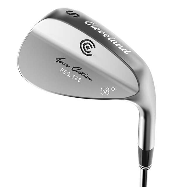 4416-588-R58 Cleveland Golf 58-Degree Tour Action Wedge, Right-Handed (2 Pack) 1