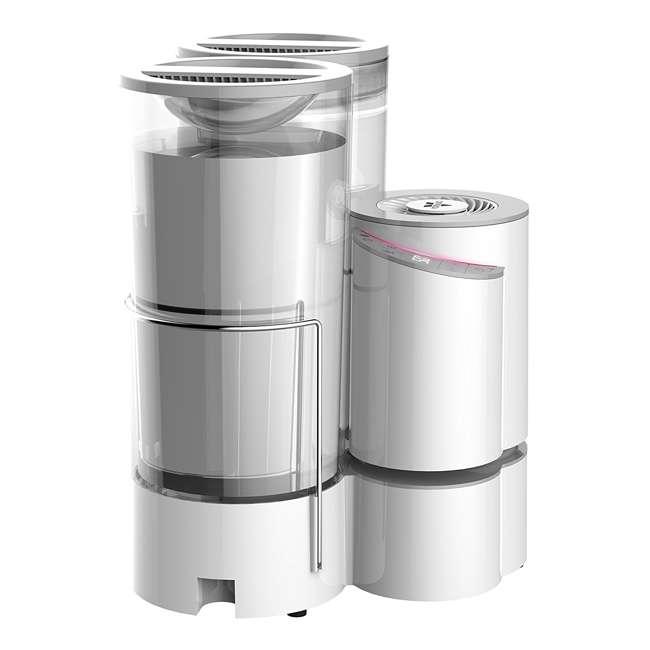 ELEMENT-A2 Vornado Element A2 2-Gallon Air + Steam Humidifier (2 Pack) 2
