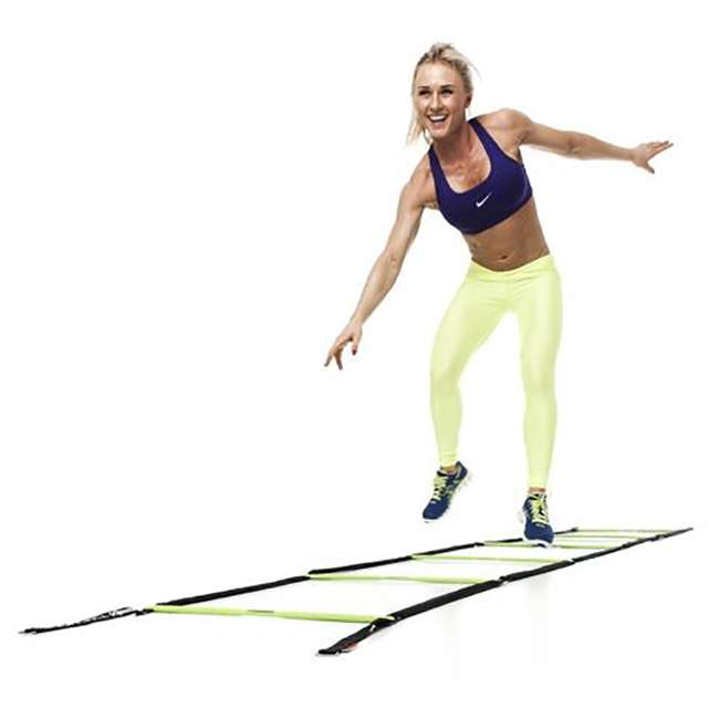EST-SL Escape Fitness 10' Long Speed Ladder for Total Body Fitness Training w/Carry Bag 4
