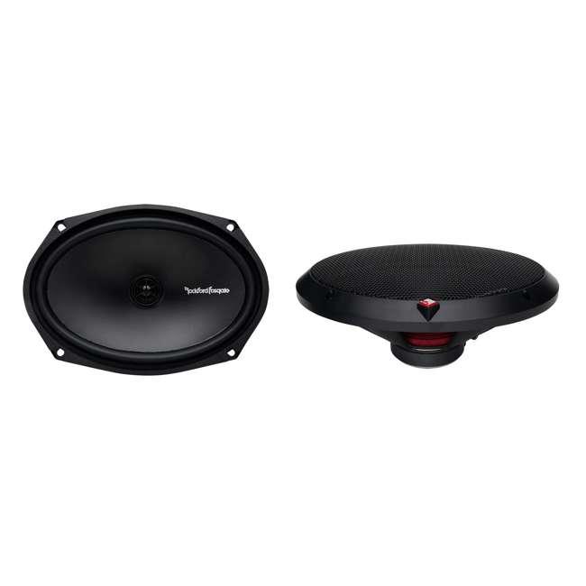 3 x R169X2 Rockford Fosgate 6x9-Inch 130W 2 Way Speakers (6 Pack) 1