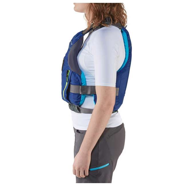 NRS_40036_02_103 NRS Adult Women's Siren PFD Life Jacket Vest, Teal, L/XL 2