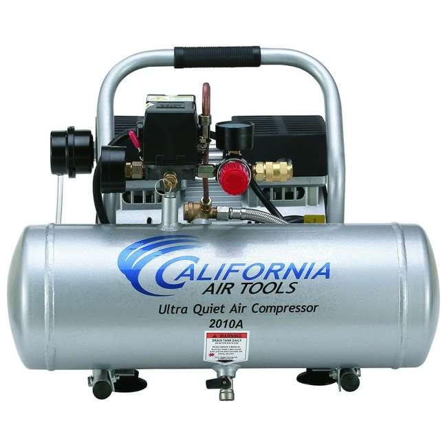 2010A 1 HP 2 Gal Ultra Quiet & Oil-Free Air Compressor