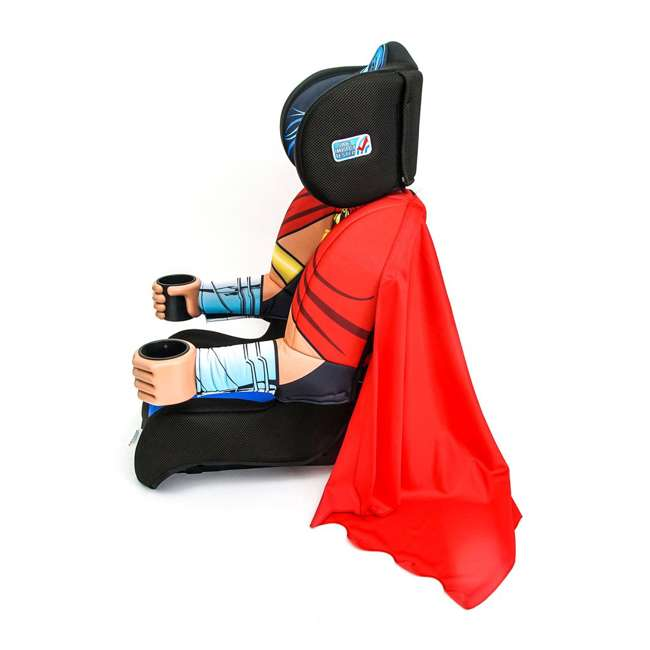 KE-3001WWM KidsEmbrace Combination 2 in 1 Booster Forward Facing Car Seat, DC Wonder Woman 4