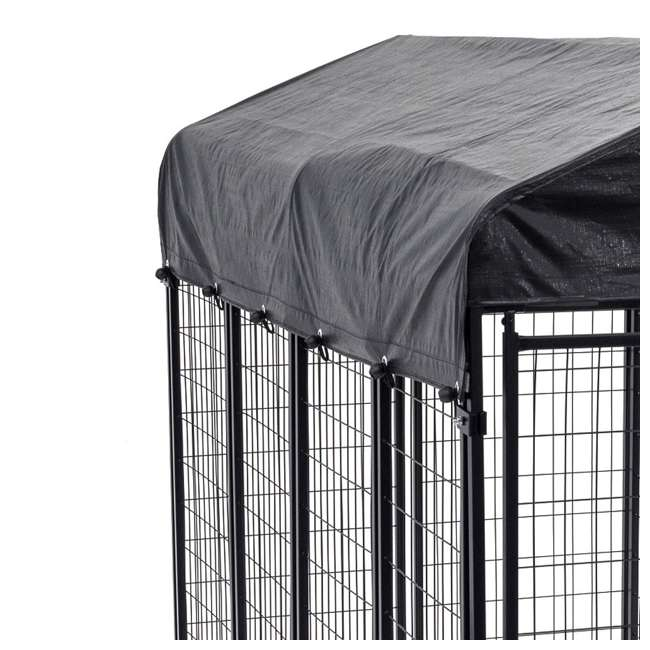 CL-60548-U-A Lucky Dog Uptown Large Welded Kennel Heavy Duty Dog Cage (Open Box) (2 Pack) 2