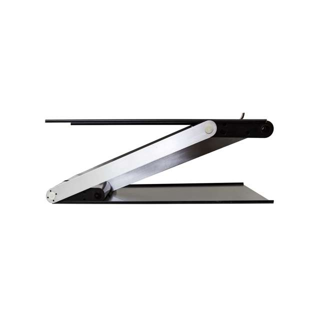 UD-01-BLA Supermoon Products Up2U Height Adjustable Desk, Black (2 Pack) 4
