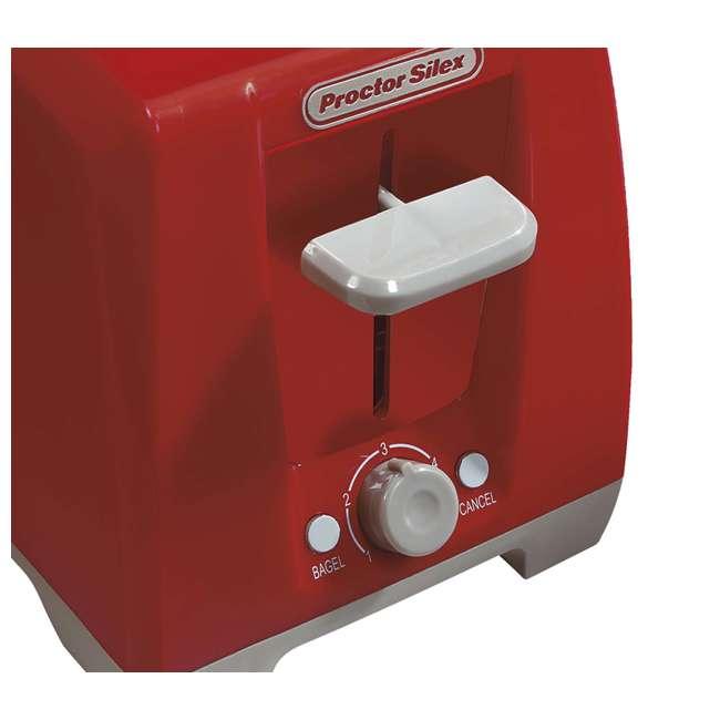 22335  Proctor Silex 2 Slice Bagel Toaster, Red  | 22335 4