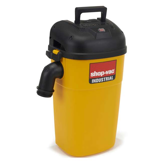 3942010 Shop Vac Industrial & Contractor 5 Gallon Wall Mount Wet Dry Vacuum Cleaner 2