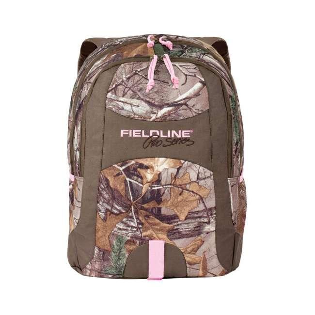 FCB001FLP-RAX Fieldline Black Canyon Multi Pocket Camouflage Adjustable Hunting Backpack, Pink