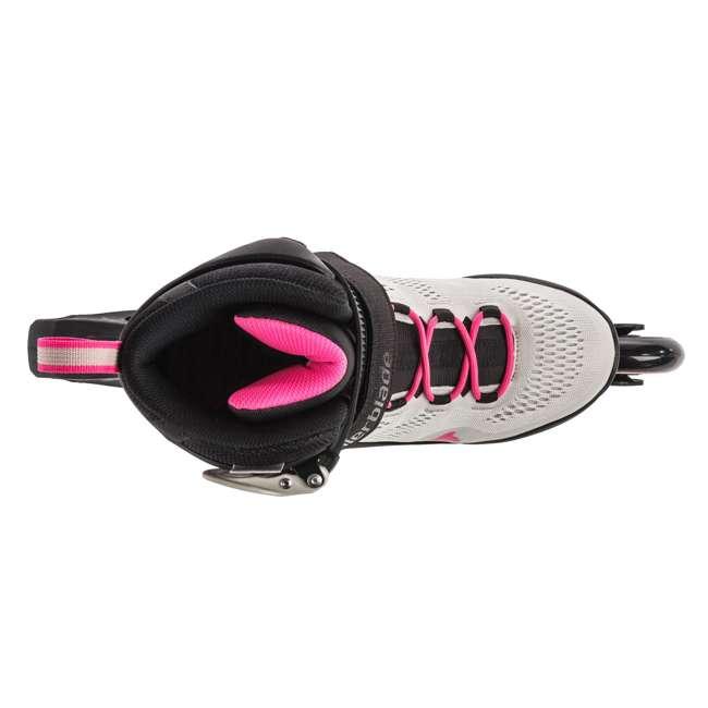 7955300500-7 + 06320200001-M + 067H0310800-L Rollerblade USA Women's Size 7 Rollerblades + Pads + Helmet 5