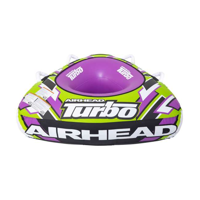 AHTB-11 Airhead Turbo Blast 56 Inch 1 Person Inflatable Boat Towable Water Inner Tube 3