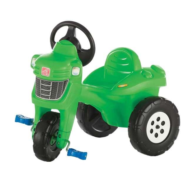 717600 Step 2 Outdoor & Indoor Children's Pedal Farm Tractor